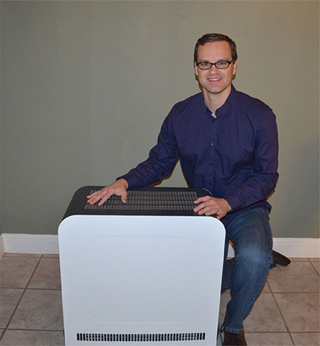 Texas firm offers costly air purifier